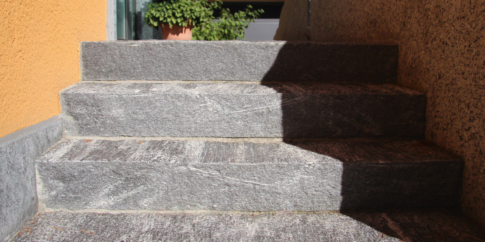 granit treppen aus polen